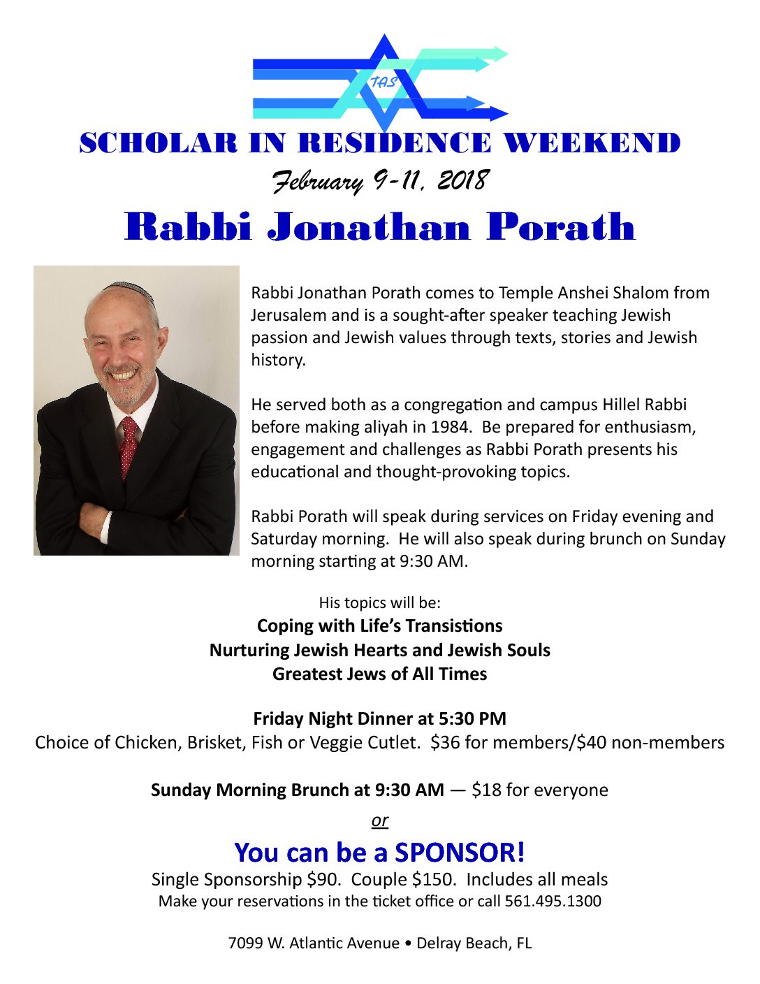 Scholar in Residence Weekend