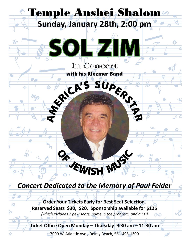 Sol Zim Concert