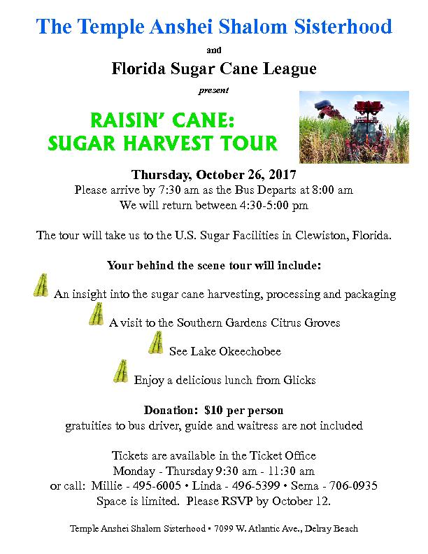Rasin' Cane: Sugar Harvest Tour
